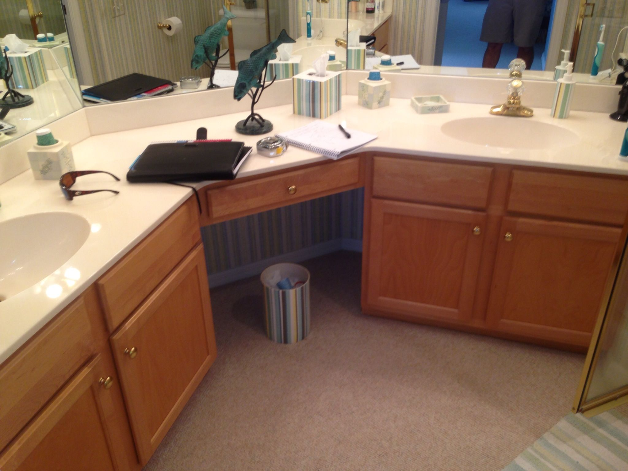 Waterford at lexington master bath remodel olde florida for Bath remodel fort myers
