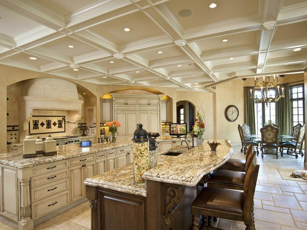 Sophisticated Coffered Ceiling