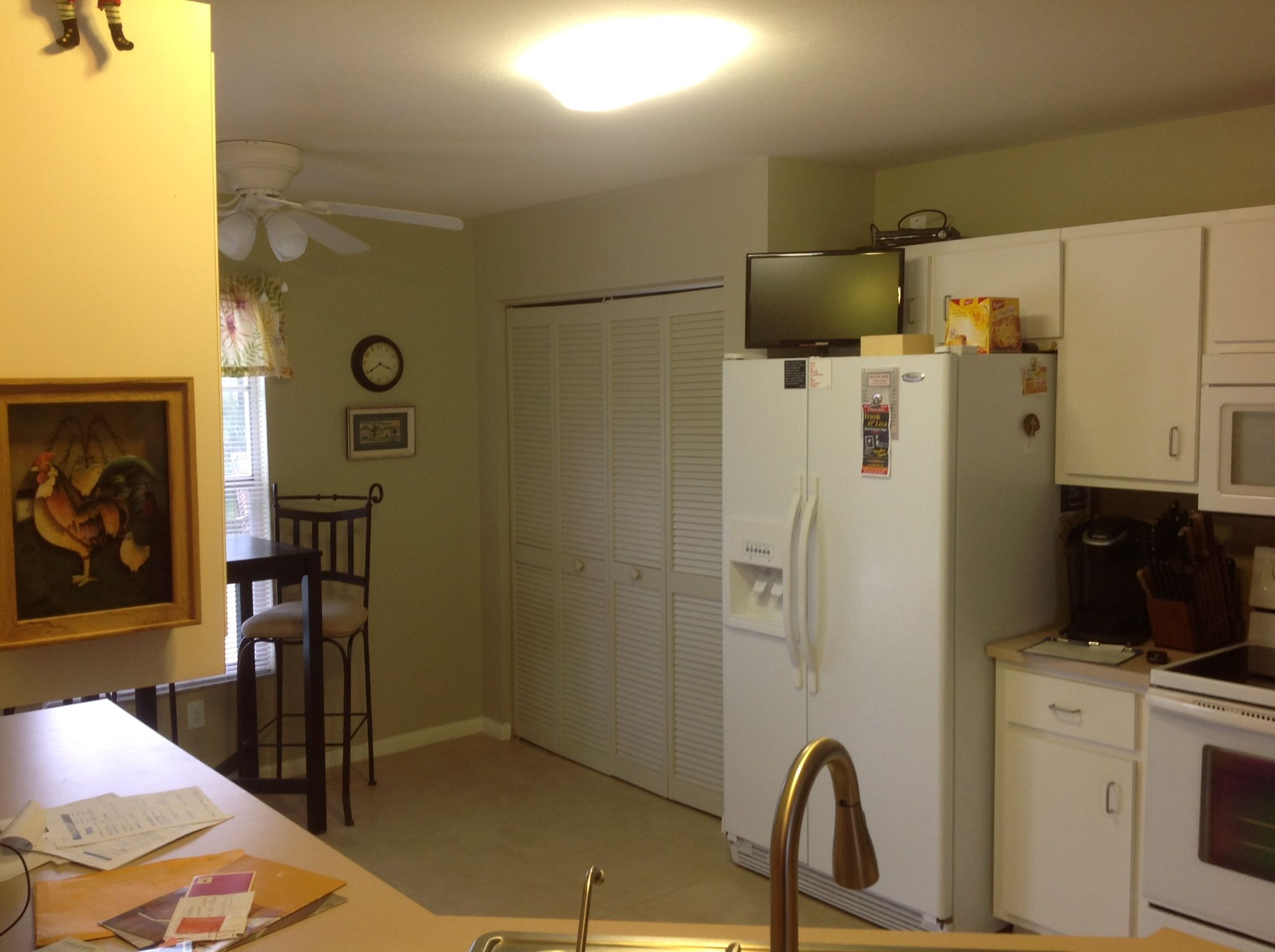 Captivating Kitchen Fireplace Remodel Olde Florida Contracting Inc . Kitchen Cabinets  Cape Coral ...
